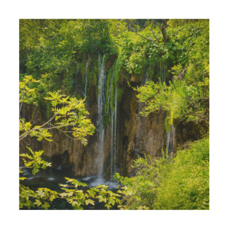 Plitvice Lakes National Park in Croatia Wood Wall Decor