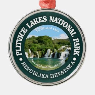 Plitvice Lakes NP Metal Ornament