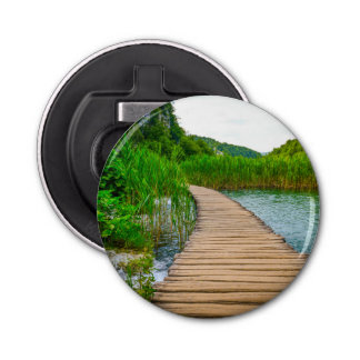 Plitvice National Park in Croatia Hiking Trails Bottle Opener