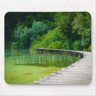 Plitvice National Park in Croatia Hiking Trails Mouse Pad