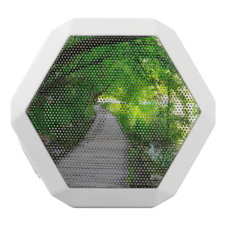 Plitvice National Park in Croatia Hiking Trails White Bluetooth Speaker