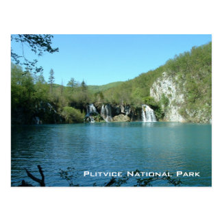 Plitvice National Park Postcard