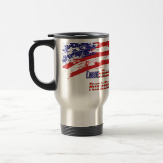 """PLM Corner Marshal"" by Flagman Travel Mug"