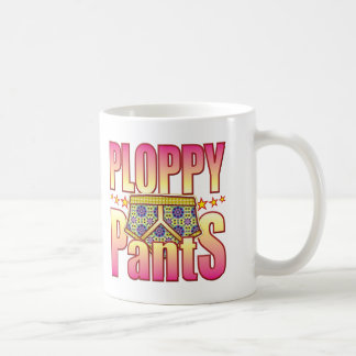 Ploppy Flowery Pants Coffee Mug