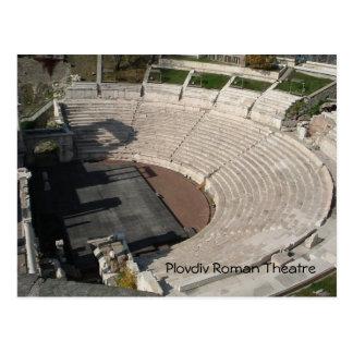 Plovdiv Roman Theatre Postcard