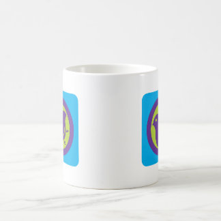Plover (cool colours) classic white coffee mug