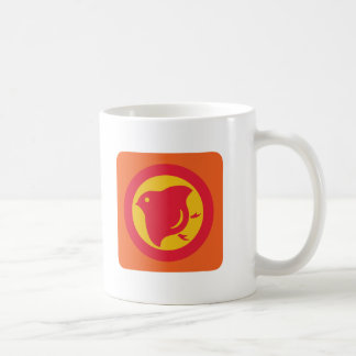 Plover (warm colours) classic white coffee mug
