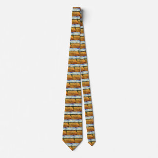 Plowed Field by Vincent van Gogh, Vintage Fine Art Tie
