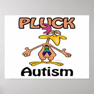 Pluck Autism Awareness Design Posters