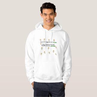 Pluck Trump Chicken Funny Men's Hoodie Sweatshirt
