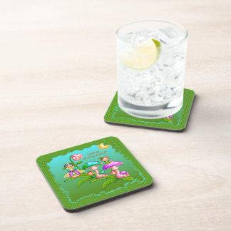 Plucky Ducks Pixel Art Coasters