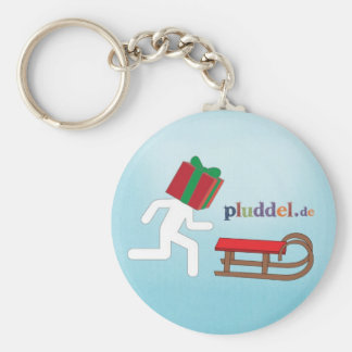 pluddel schlüsselanhänger xmas key ring