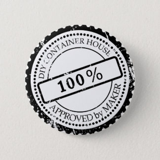 Plug Approved by Maker 6 Cm Round Badge