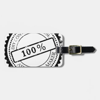 Plug Approved by Maker Luggage Tag