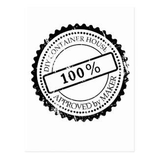 Plug Approved by Maker Postcard