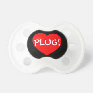 PLUG! Humorous & Fun Way to Get Some Peace! Baby Pacifiers