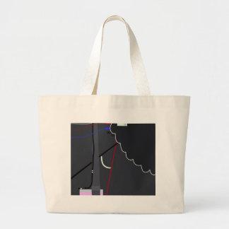 Plug in large tote bag