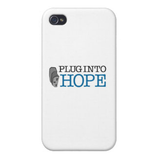 Plug into Hope iPhone 4/4S Covers