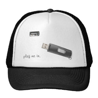 Plug me in hat