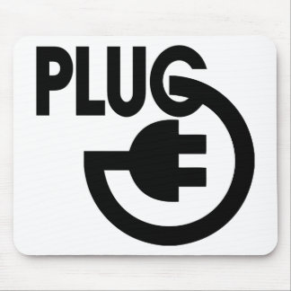 plug mouse pad
