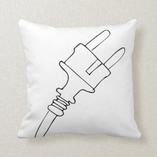 Plug Throw Cushion