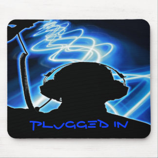 plugged in mouse pad