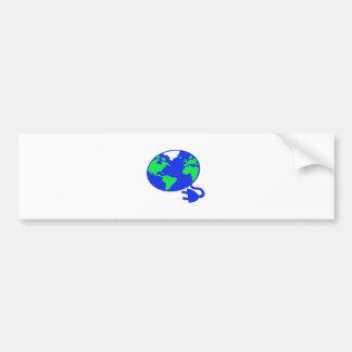 plugged in world copy.jpg bumper sticker