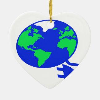 plugged in world copy.jpg ceramic heart decoration