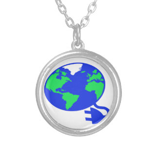 plugged in world copy.jpg round pendant necklace