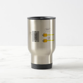 plugs cartoons coffee mug