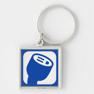 PlugShare Logo Keyring