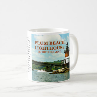 Plum Beach Lighthouse, Rhode Island Mug