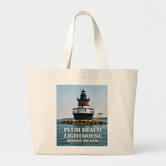 Plum Beach Lighthouse, Rhode Island Tote Bag