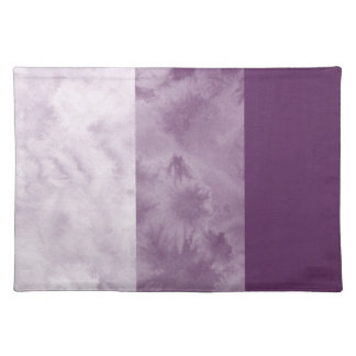 Plum Block Stripes Placemat