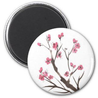 Plum Blossom Spring Magnet