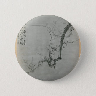 Plum Branch - Yi Yuwon 6 Cm Round Badge