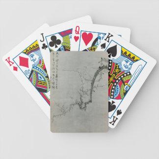 Plum Branch - Yi Yuwon Bicycle Playing Cards