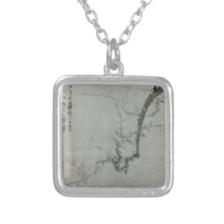 Plum Branch - Yi Yuwon Silver Plated Necklace