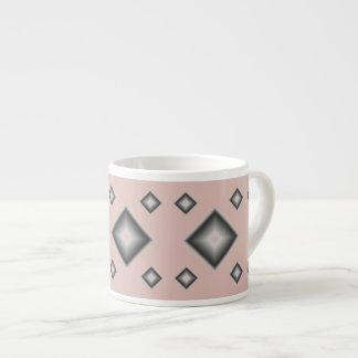 Plum Diamonds Espresso Mug by Janz