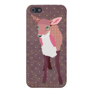 Plum Fawn Floral iPhone Case iPhone 5/5S Cover