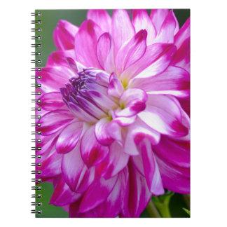 Plum Flora Notebook