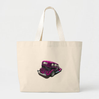 Plum Ford Hot Rod Tote Bag