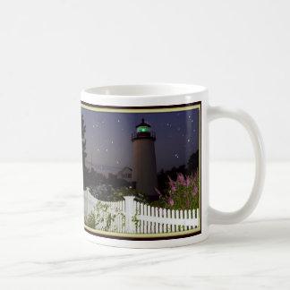 Plum Island Lighthouse Basic White Mug