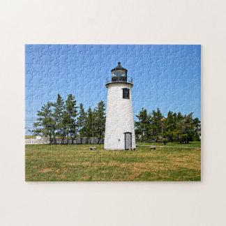 Plum Island Lighthouse Massachusetts Jigsaw Puzzle