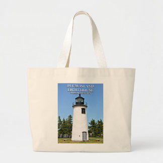 Plum Island Lighthouse, Massachusetts Tote Bag