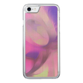 Plum Juices Pastel Abstract Carved iPhone 8/7 Case