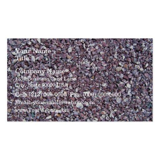 Plum limestone slate business card templates