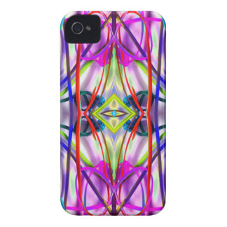 Plum Perfect Bent Lines iPhone 4 Covers