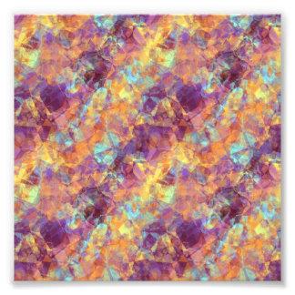 Plum Purple Crumpled Texture Photograph
