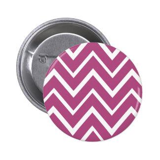 Plum purple whimsical zigzag chevron pattern pins